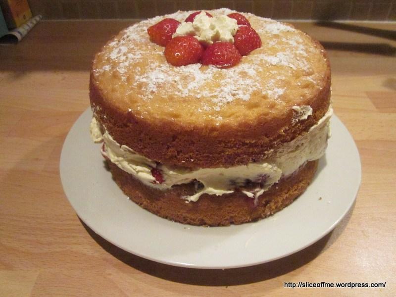 Why You Like Victoria Sponge Cake