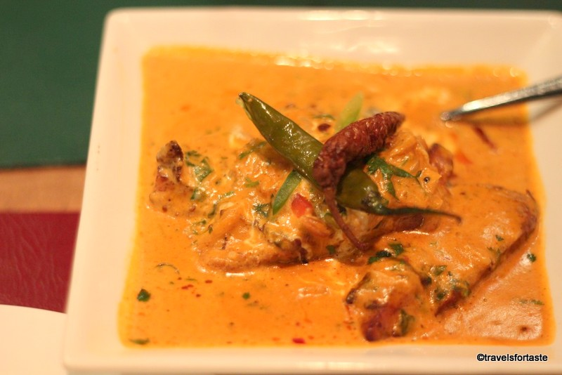 Tempting curries at Bangalore Express