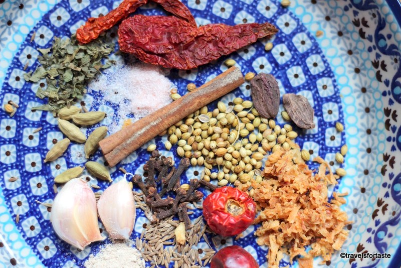Spices - fragrant, warm and fresh