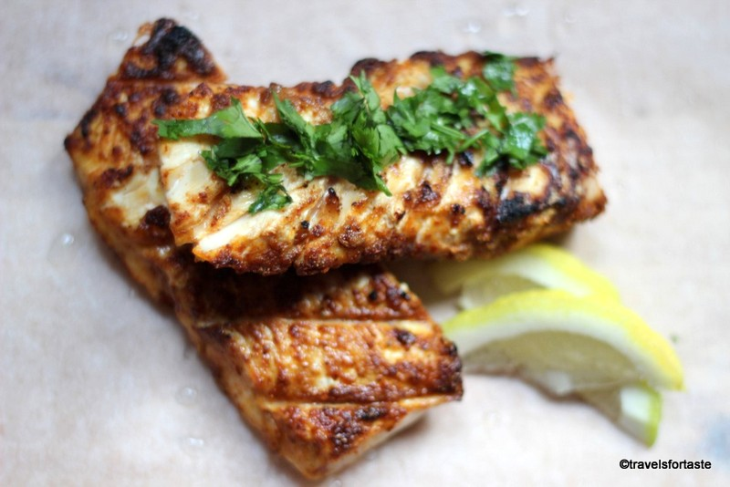 BBQ haddock fillets