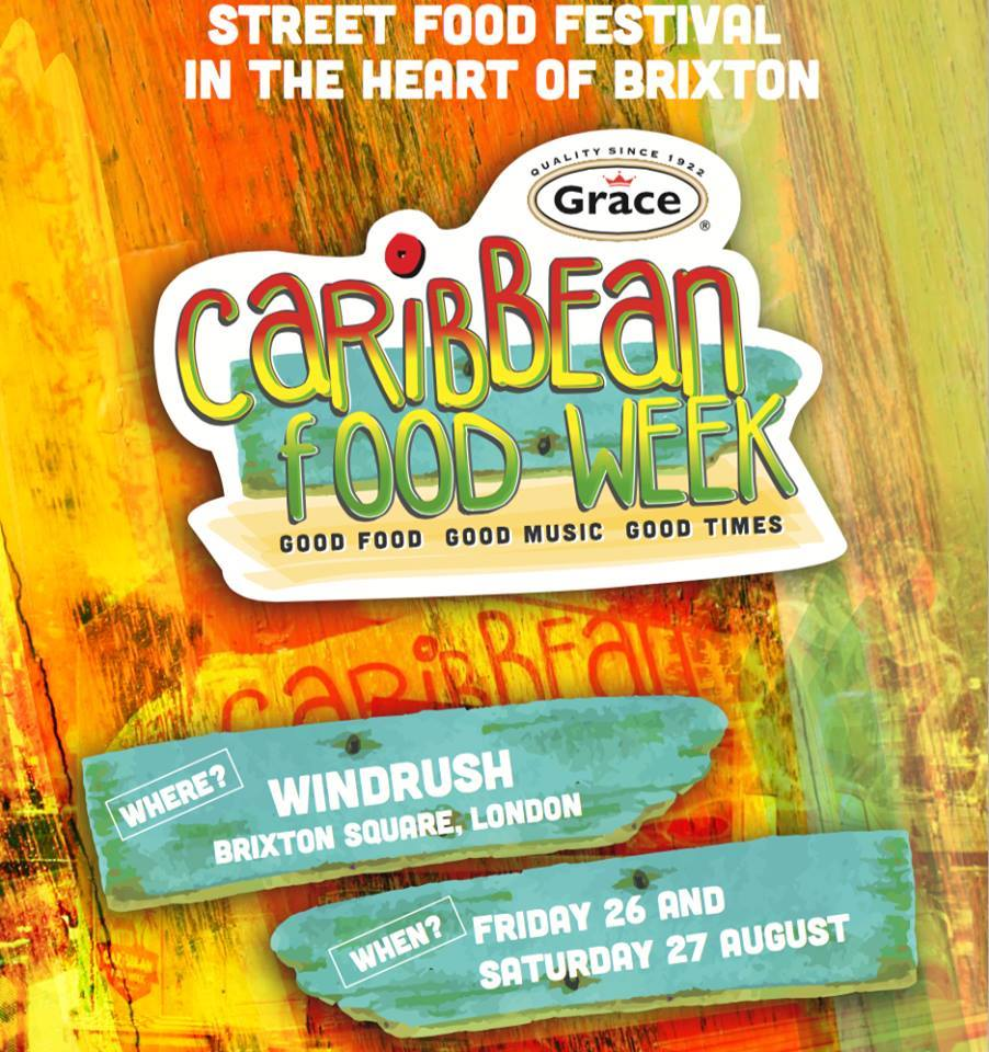 Caribbean Food Week poster