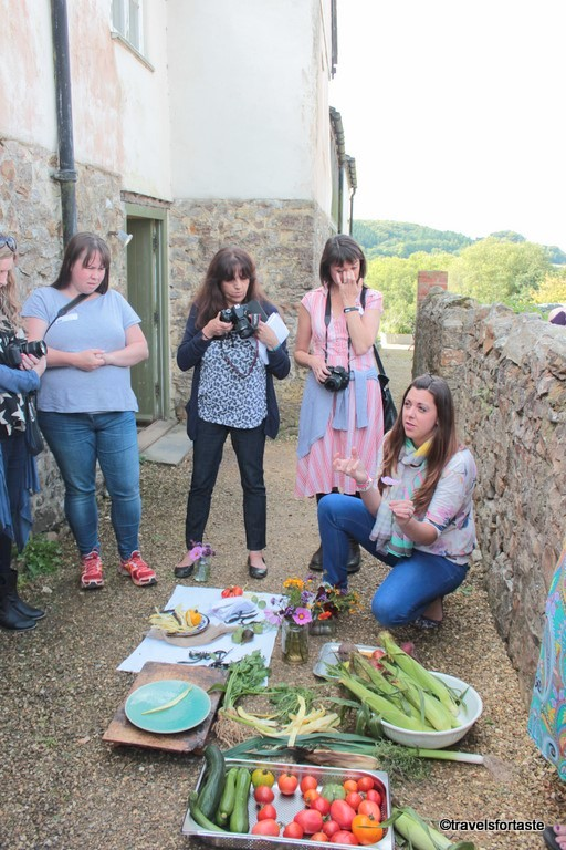 Photography session by Lucy at Foodies 100 BlogCamp 2015 at River Cottage