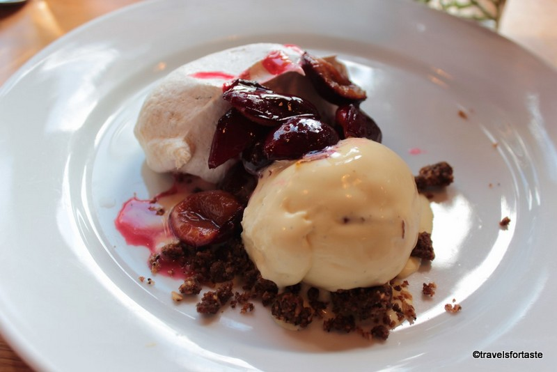 Heavenly dessert at River Cottage