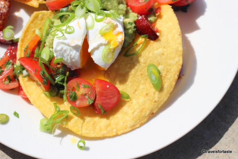 Huevos Rancheros with Happy Eggs