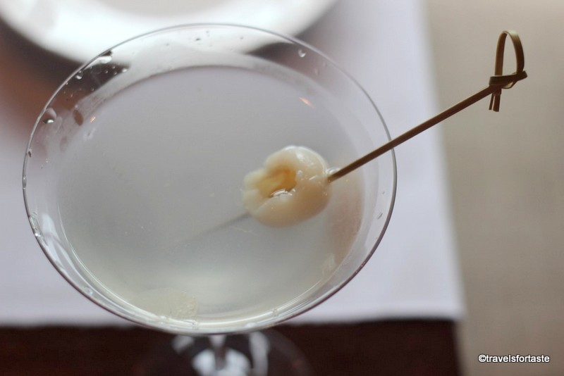 Lychee Martini - Shampan at the Spinning Wheel
