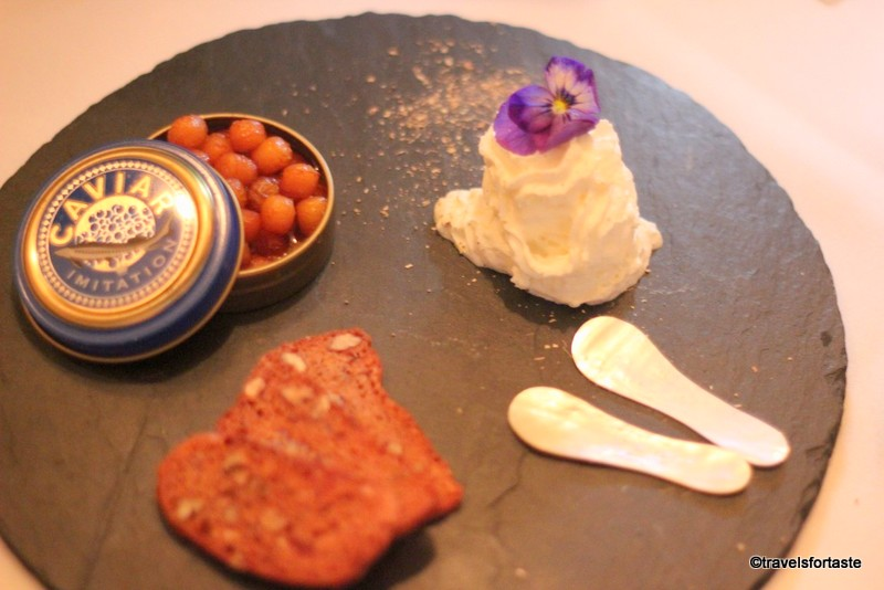 Chakra on Holland Street - Gulab Jamun Caviar