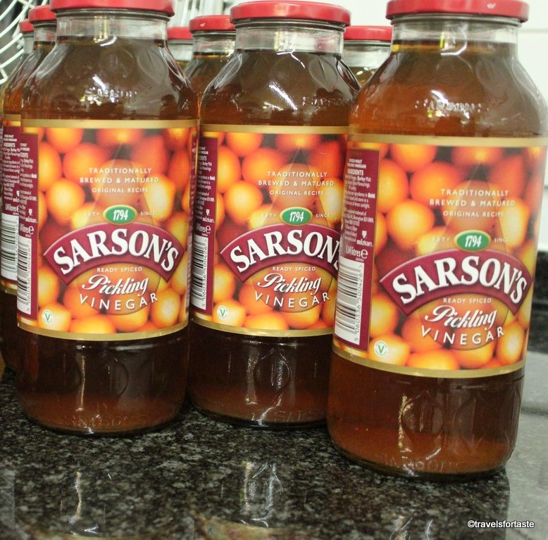 Sarsons speciality vinegar for pickling