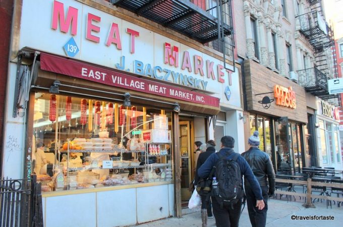 Baczynsky Meat Market -East Village, New York Walking Tour