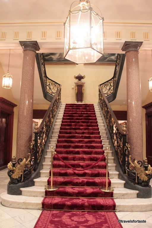 Grand entrance stairwell at The Wallace Collection