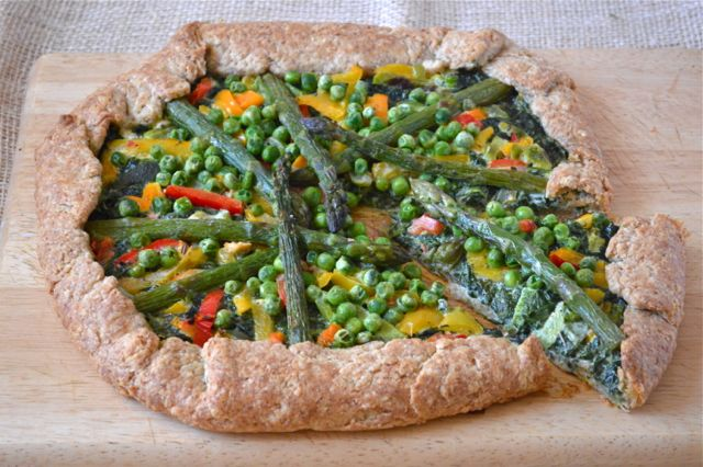 Green-Vegetable-Galette- Tin and Thyme