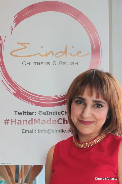 Sonal Sher - creator of eINDIE range of handmade Chutneys and Relishes