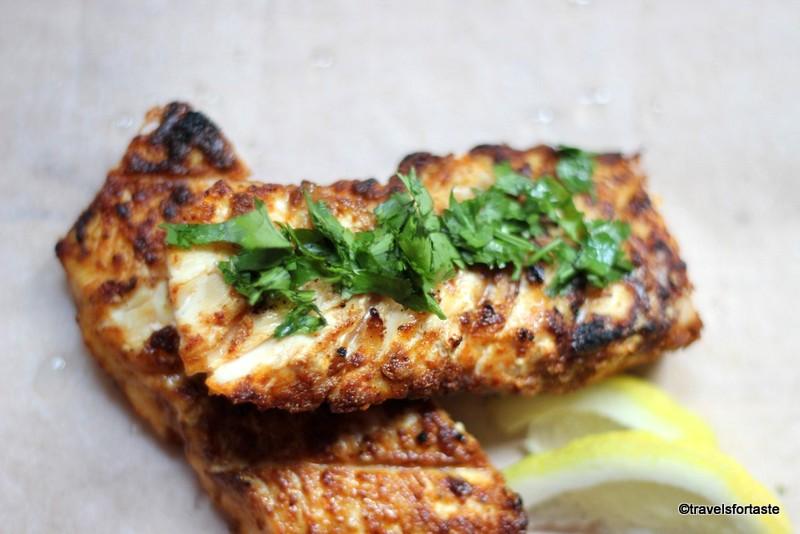 BBQ haddock fillets