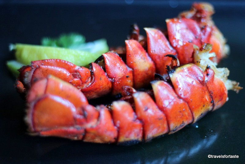 Tandoori Lobster Tails Recipe by Manjiri of Travelsfortaste