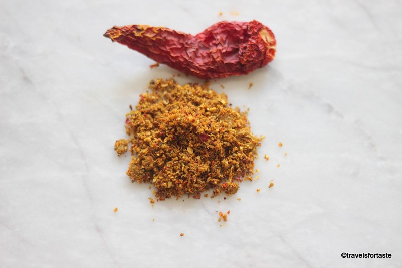 Homemade spice rub