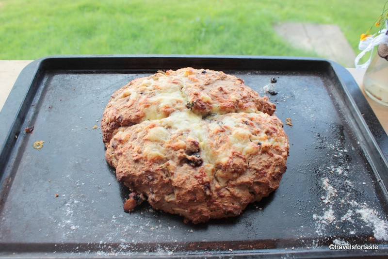 Soda bread I baked at River Cottage