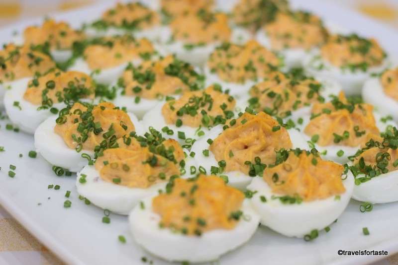 Devilled Happy eggs
