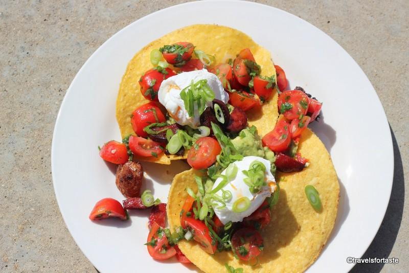 Huevos Rancheros with Happy Eggs