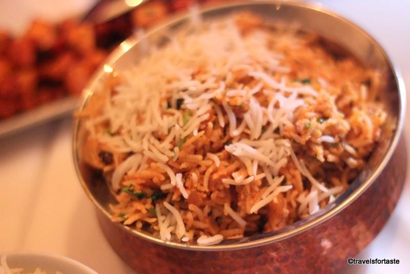 Chakra on Holland Street - Seafood Biryani