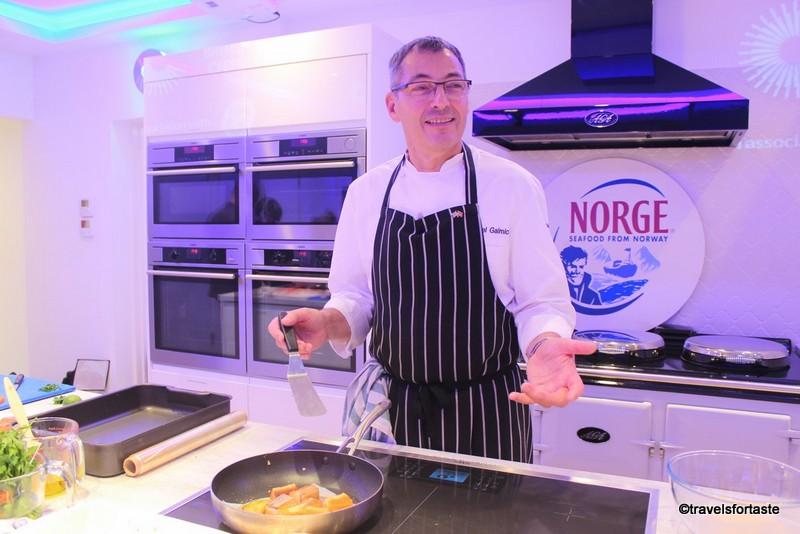 Norwegian fjord trout Brand Ambassador Daniel-Galmiche