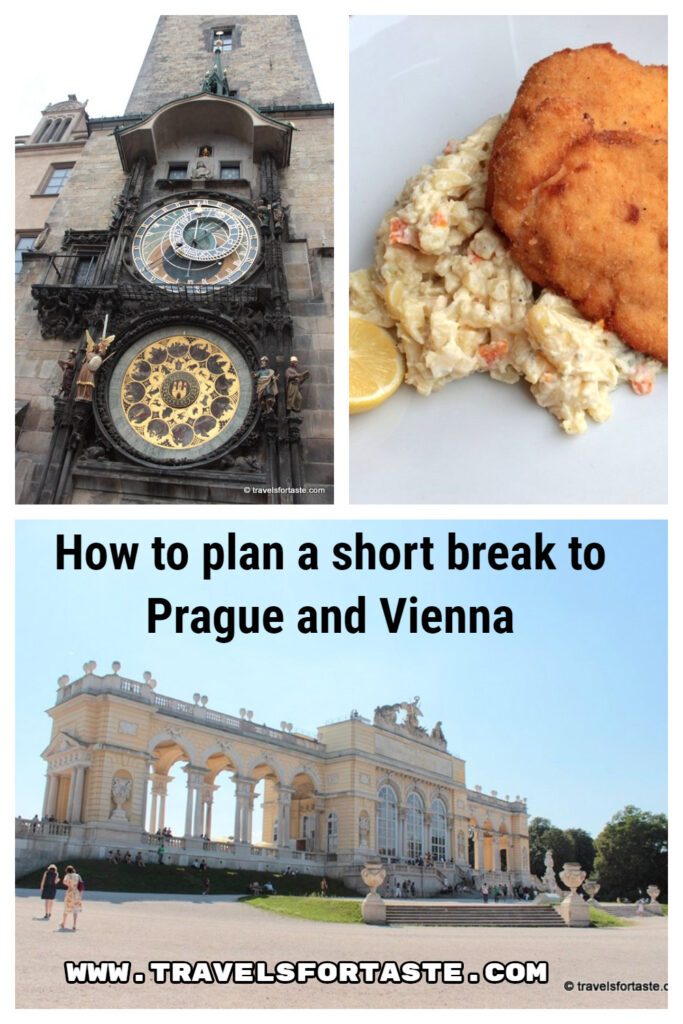 How to plan a short break to Prague and Vienna